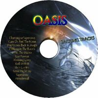 OASIS GUITAR BACKING TRACKS CD BEST GREATEST HITS MUSIC PLAY ALONG MP3 ROCK