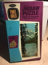 Vintage Whitman Panel Guild 550 Piece Jigsaw Puzzle - Emerald Lake Complete