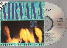 NIRVANA smells like teen spirit CD SINGLE france french card sleeve GED 21744