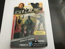 G.I. Joe Retaliation Cobra Night Viper NEW