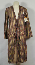 NWT Vintage Carol Horn Habitat Tan Tie Duster Sweater Jacket Boho Virgin Wool