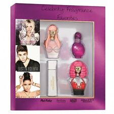 Nicki Minaj Justin Bieber Britney Spears Perfume Mini Gift Set BNIB Sealed
