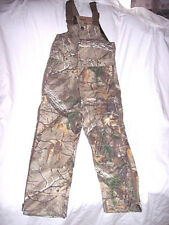 Boys Bib Overalls Medium Insulated Coveralls Camo Bibs Realtree Camo Hunting Bib