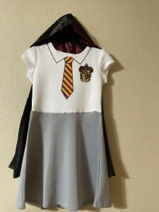 Harry Potter Hermione Granger HALLOWEEN Costume Gryffindor Dress/Cloak L(10/12)