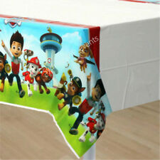 PAW PATROL TABLECOVER PLASTIC BIRTHDAY PARTY SUPPLIES TABLE CLOTH TABLEWARE