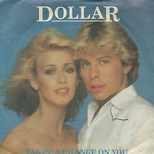 """DOLLAR """" TAKIN' A CHANCE ON YOU / NO MANS LAND"""" 7"""" MADE IN UK"""