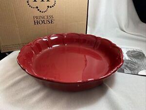 Princess House #6856 Pavillion Berry Bake & Serve Bowl RETIRED NEW In Box!