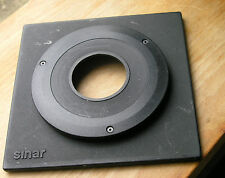 Sinar Horseman 8mm Top Hat lens board per il Copal 1 FORI 41.6mm