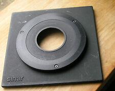 Sinar Horseman 8mm top hat  lens board for copal 1  41.6mm hole