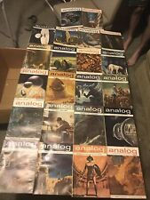 Analog Science Fiction 22 issues. Pick And Choose Or Take Them All.