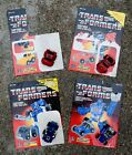 G1 TRANSFORMERS Autobot CLIFFJUMPER WINDCHARGER BEACHCOMBER PIPES w/ Cards -Read