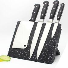 Magnetic Bamboo Knife Holder | Kitchen Organisation | Cutlery Set Storage Block