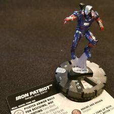 IRON PATRIOT - 034 - RARE Figure Heroclix Avengers Infinity Set #34