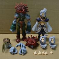 Square Enix Bring Arts Final Fantasy IX Salamander&Kuja Figure PVC NO BOX