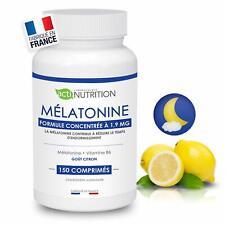 Mélatonine 1,9mg - 150 nuits Régulateur de l'horloge biologique bon sommeil