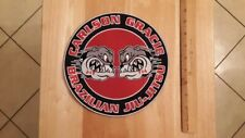Carlson Gracie Brazilian Jiu-Jitsu Embroidered Large Patch