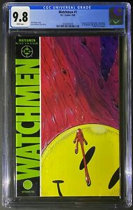 Watchmen 1 CGC 9.8 (1986) 1st Rorschach Dr. Manhattan Ozymandias Silk Spectre