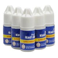 10 X Neu Acrylic Nagelklebstoff for Nail Tips Nägel 3g Neu·`~
