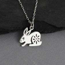 Year of the Rabbit Necklace - 925 Sterling Silver - Chinese Zodiac Pendant NEW
