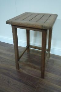 Handmade Milking Stool Made From Solid Hardwood - Large