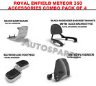 ROYAL ENFIELD METEOR 350 ACCESSORIES COMBO PACK OF 4