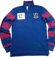 Ralph Lauren Rowing Club Custom Slim Fit Rugby Polo Shirt