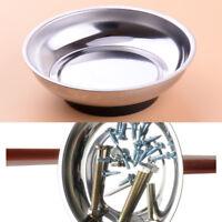 Magnetic Parts Nuts Bolts Screws Nail Bowl Tray Dish Machine Repair Storage Tool
