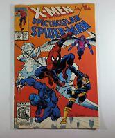 Spectacular Spider-Man (1976 series) #197 Feb  X-men  Marvel comics [*xt]