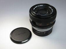 Canon FD 55mm f/1.2 s.s.c objetivamente/lens (4802)