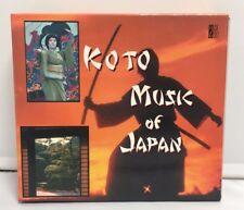 Koto Musique de Japan 2CD Coffret CD