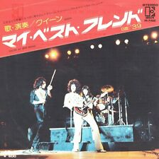 Queen You're My Best Friend / '39 Japan 45 With Picture Sleeve 600 Yen 1976