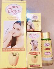 PIMENT DOUX 4PC SET: LOTION, LOTION ECLAIRCISSANTE, BSC & SERUM  WITH FRUIT ACID