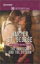 The Innocent and the Outlaw (Outlaws of the Wild West)-ExLibrary