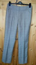 SAMPLE SIZE 12 LONG LENGTH BROWN CHECK TROUSERS BY Give