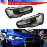 Headlights Headlamp LED DRL For Mitsubishi Lancer EVO Audi A5 Style