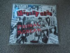 Motley Crue Primal Scream RARE CD Single