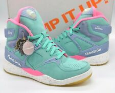 VNDS Reebok The Pump Certified x Mita Sneakers Teal/Pink/Purple Electric City 10