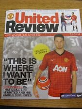 26/09/2012 Manchester United v Newcastle United [Football League Cup] . Footy Pr