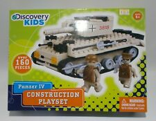 Panzer Iv Construction Set - Discovery Kids 160 Piece New in Box Building Toy