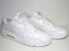 Men's Nike Air Max 90 Leather White Trainers UK 10 / EU 45 / US 11