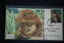 Great Plains Black-Tailed Prairie Dog Fdc Handpainted Collins#F3406 Sc#3506d