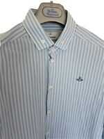 Mens MAN by VIVIENNE WESTWOOD fitted long sleeve shirt size 48/medium. RRP £260.