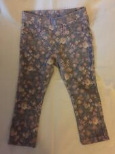 Zara Baby Girl Leggings Pants Flower Pattern So.zeal 9-12 Month