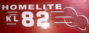 Homelite Go-Kart Decal OLD SCHOOL 1960 KL 82 Decal Reproduced From Original