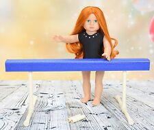 Gymnastics Balance Beam for American Girl Doll or 18 inch doll
