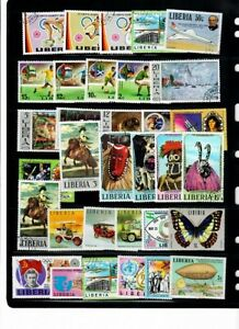 Stamps from Liberia
