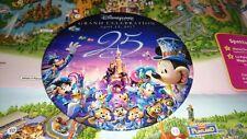 Disney BIG LARGE XL Button Badge DLP 12 Avril Anniversary Disneyland Paris 25