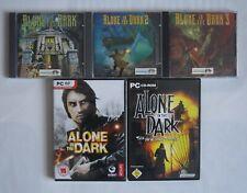 Alone in the Dark - PC Spiele Sammlung - selten
