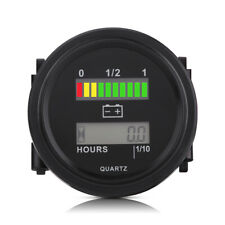 Battery Indicator High Charge Battery Gauge for Cart for RV Marine Boat