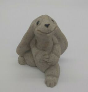 "Quarry Critters ""Reggie"" The Rabbit by Second Nature Design Figurine"